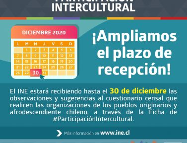 Organizaciones de los pueblos cuentan hasta el 30 de diciembre para hacer observaciones y sugerencias al cuestionario censal